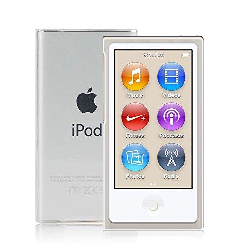 VIFLYKOO iPod Nano 7 Funda, iPod Nano 7 Cover Extrema Delgado Transparente Funda iPod Nano 7 Case TPU Carcasa Silicona Protective para iPod Nano 7 iPod Nano 8 TPU Case