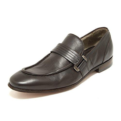 9073G mocassino uomo testa moro BARRACUDA scarpa scarpe loafers shoes men [40]