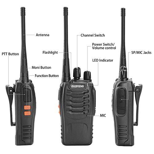 Zoom IMG-1 walkie talkie 2pcs ricetrasmittente 16