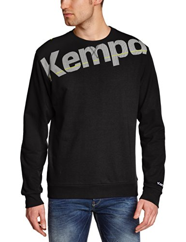 Kempa Pullover Core Sweat Shirt, Schwarz, XL