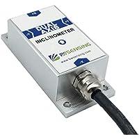 Bwsensing Sensor de inclinación BWK220 Inclinómetro de doble eje con resolución de 0.02 grados y salida analógica de voltaje de precisión de 0.2 grados