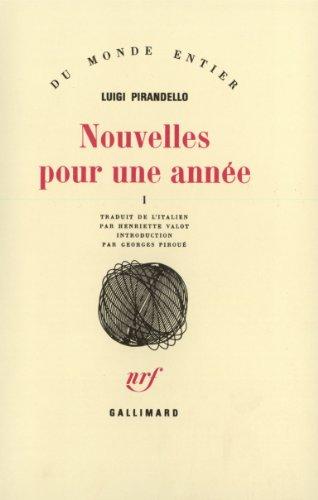 Nouvelles pour une année, tome 1 par Luigi Pirandello