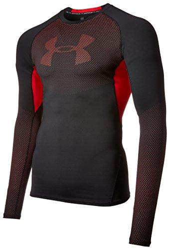 under-armour-hg-graphic-ls-blk-red-t-shirt-de-compression-homme-noir-fr-xxl-taille-fabricant-xxl