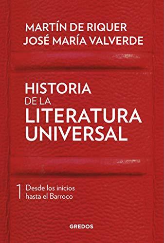 Historia de la literatura universal I (VARIOS GREDOS)