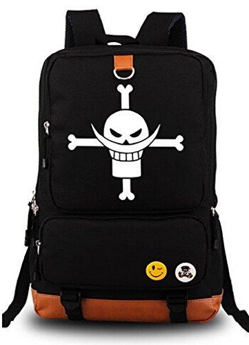siawasey Anime One Piece Cosplay Luminous Messenger Bag Rucksack Schule Tasche