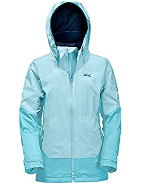 Jack Wolfskin Discovery Cove jacketw Omen, mujer, azul, large