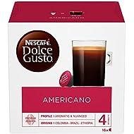 NESCAFÉ Dolce Gusto Americano Coffee Pods, 16 Capsules (16 Servings)