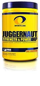 Infinite Labs Juggernaut HP Preworkout Supplement, Pink Lemonade, 390 Gram