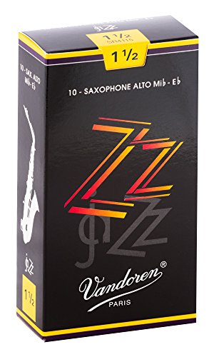 Vandoren SR4115 ZZ Alt Saxophon Blätter - 10 Einheiten