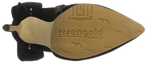 Fersengold - Berlin, Stivali Donna nero (nero)