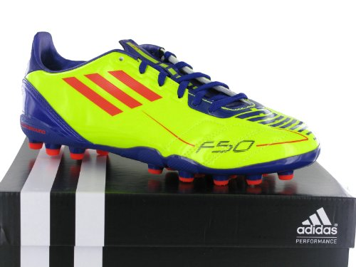 Adidas F10MG J g51576Junior Calcio Tacchetti Kids multiground giallo viola Yellow