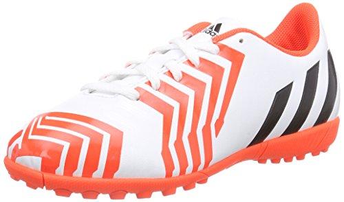 adidas Predito Instinct TF, Jungen Fußballschuhe, Weiß (Ftwr White/Core Black/Solar Red), 36...