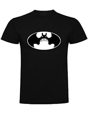 The Fan Tee Camiseta de Mujer Ghibli Mi Vecino Totoro Mononke Porco Batman