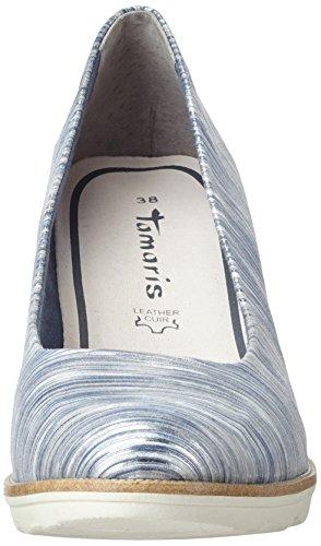 Tamaris 22402, Scarpe con Tacco Donna Argento (Silver Comb 948)