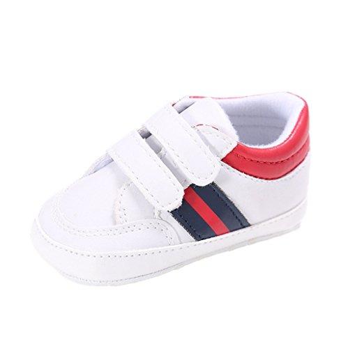 Auxma Chaussures de bébé Baskets,enfant bébé Filles garçon occasionnel chaussures pour tout-petits Pantoufles antidérapantes Chaussons pour 0-6 6-12 12-18 mois