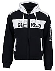 Geographical Norway - Sweat à capuche Enfant Geographical Norway Glapping Marine