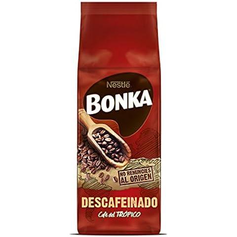 Bonka - Café Tostado grano Descafeinado, 250 g