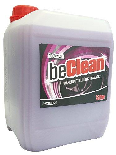 Color-Flüssigwaschmittel beClean Black Wash 5l Kanister 13 cent je Waschladung