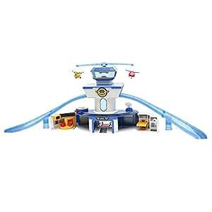 Giochi Preziosi Super Wings Playset Torre di Controllo con Luci e Suoni, Personaggi Jett e Donnie Inclusi