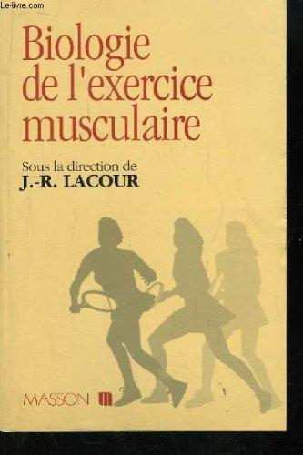 Biologie de l'exercice musculaire