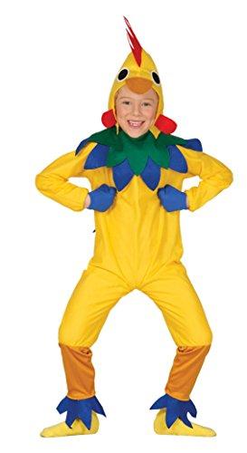 Guirca Kostüm Küken, Größe 5–6Jahre, Gelb ()