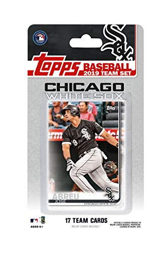 Chicago White Sox 2019 Topps Factory Sealed Special Edition 17 Karten Team Set mit Yoan Moncada und Jose Abreu Plus - Baseball-karten Topps