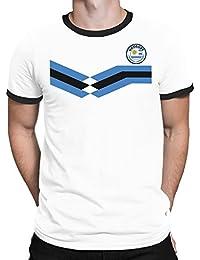 Tee Spirit Uruguay Camiseta Para Hombre World Cup 2018 Fútbol New Style Retro