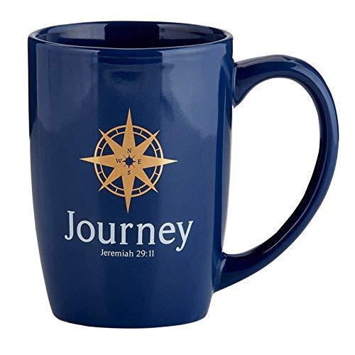 Reise Jeremiah 29: 11Keramik Kaffee Tasse Geschenk, 16oz (Religiöse Reise-tassen)