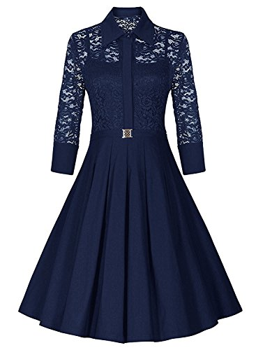 SantSayaa Creation Latest Designer Frocks for women western wear knee length (Free Size Navy Blue)