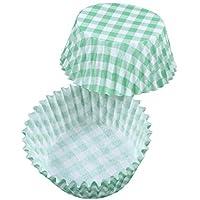 Muffinformen Inventive Muffin Förmchen Verdickte Aluminium Folie Kuchen Muffin Form Für Baken 60 Stück Kochen & Genießen