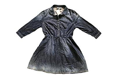 Adidas Neo Denim Blue Long Sleeve Dress UK10