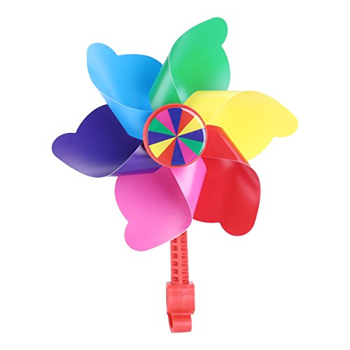 VORCOOL Colorful Lenker Flower Pinwheel Windmühle Dekoration für Kid 's Fahrrad Scooter (Kids-bike-dekorationen)