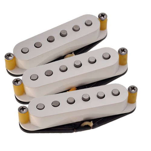 Tonerider TRS1 - Set di pick-up per Stratocaster vintage, per mancini, colore bianco