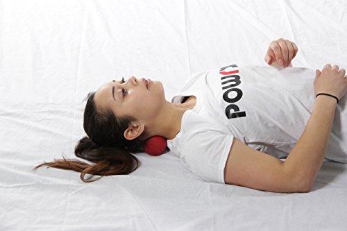 POWRX Peanut Mini Massageball – Für Faszientherapie und Triggerpunkttherapie - 3