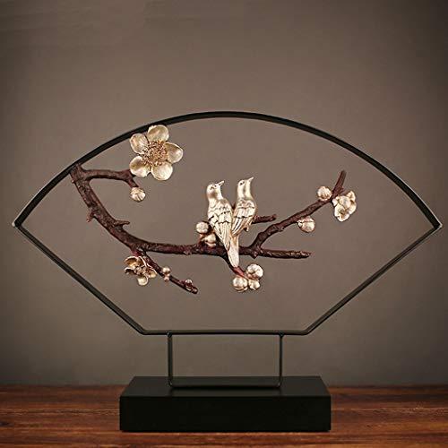 Schmiedeeisen-rahmen (XLSM Rahmen Handwerk Ornamente Chinesische Schmiedeeisen Dekoration Veranda TV Schrank kreative Mode Ornamente)