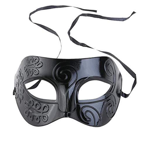 Maskerade Maske Schwarzes Gesicht Venezianische Maske Männer Frauen Kostüm Party für Kostüm Ball/Masked ()
