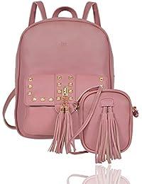 Iva Stylish Backpack for Women Cum Sling Bag Combo