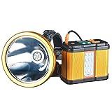 Lampada da Pesca, Luce Della Searchlight Impermeabile Super Luminoso Lanterne Torcia Elettrica per Notte Emergenze Campeggio Escursionismo (colore : 2000W)