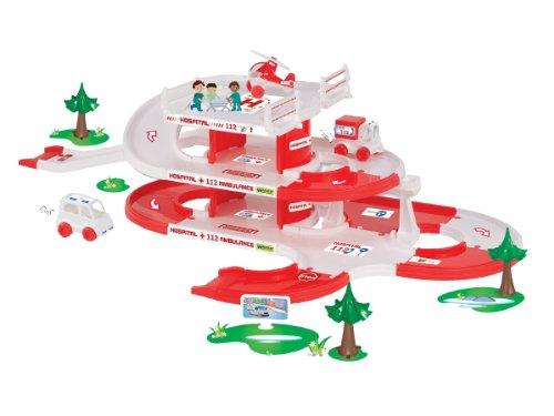 Wader - 2078229 - Kid Cars 3D - Parking Maison - Hôpital sur 3 Niveaux - 4,8 M