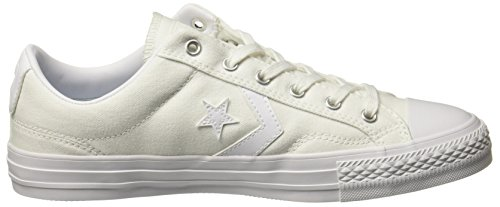 Converse Womens Star Player Ox Canvas Trainers Blanc