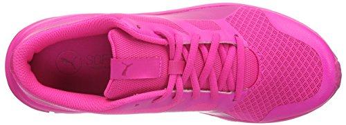 Puma Unisex-Erwachsene Flexracer Sneakers Pink (Fuchsia Purple-Pink Glo 09)