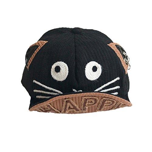 063de1b5be7 Falaiduo Kids Boys Girls Cute Cartoon Dog Beret Hat Sun Hat Baseball Cap  for 1-