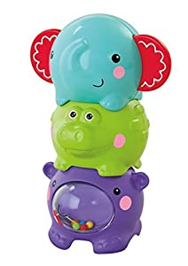 Fisher-Price Fisher-Price-BGP41 Disney 6 Meses Apilaanimalitos, (Mattel BGP41)