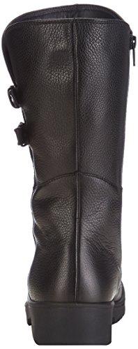 Ganter Ellen-stiefel, Weite G, Bottes Classics de hauteur moyenne, doublure chaude femme Noir - Noir (0100)