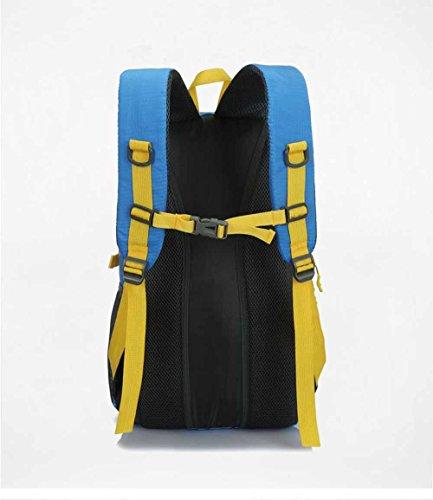 d72232ade87e2 AllureFeng Outdoor wasserdicht Bergsteigen Taschen bulkBewegung von Männern  und Frauen reisen Fitness pur Rucksack Rucksack LaptopTasche Orange