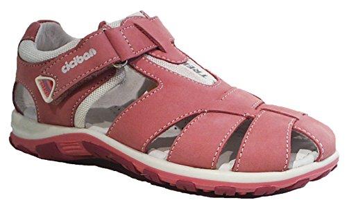 Ciciban Sandalen Halbsandalen Leder rosa pink (31)
