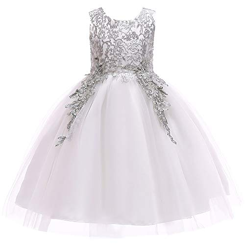 Kostüm Dance Ball Kleid - Kinderhochzeits-Party-Kleid 2019 Neues Jahr Kostüm Weihnachten Kleid Kinder Kleid Mädchen Prinzessin Kleid Kleid Weihnachten Kinder Abschlussball Dance Ball Geburtstagskleid
