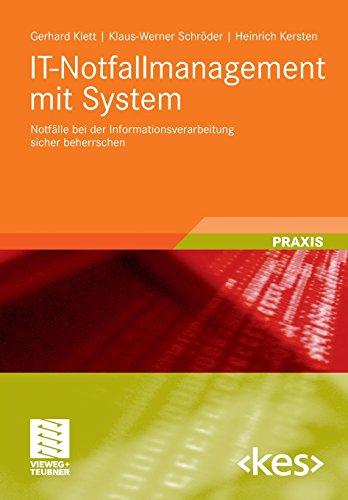 IT-Notfallmanagement-mit-System-Notflle-bei-der-Informationsverarbeitung-sicher-beherrschen-Edition-kes