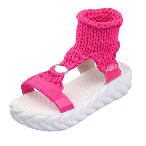 Frauen Damen Sommer Mode plattform Sandalen Komfort große größe Casual Schuhe