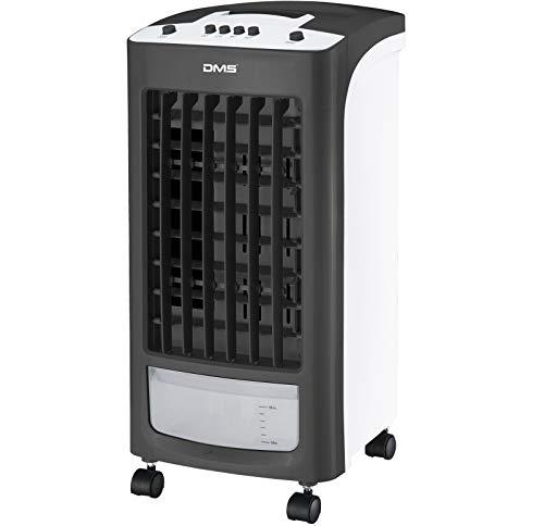 DMS All in One Mobile Klimaanlage   Klimagerät mit Multifunktion   Ventilator Luftkühler   Luftbefeuchter   Antibakterieller Luftreiniger   2 Programme und 3 Power Stufen   Farbe schwarz/weiss
